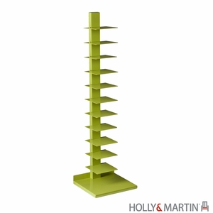 Holly & Martin Heights Book/Media Tower-Lime Green by Southern Enterprises