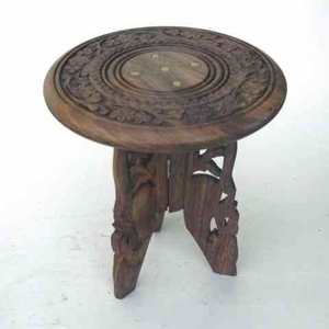 Carved Wooden Table for Top of Furniture Display Brand IOTC