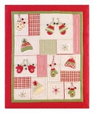 Homespun Quilted Winter Throw Blanket To Cover Your Warm Bed Brand C&F