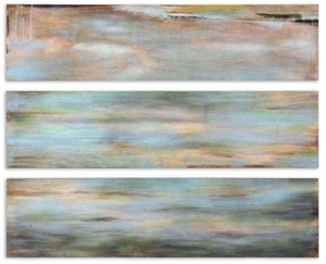 Horizon View Hand Painted Wooden Panel - Set of 3 Brand Uttermost