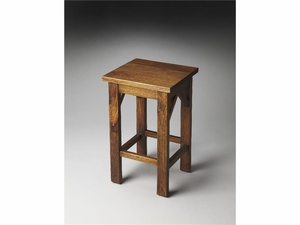 "Hubbard Solid Wood Backless Bar Stool 15.5""W by Butler Specialty"