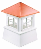 "Huntington Cupola 36"" x 49"" - Vinyl and Copper by Good Directions"