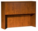 Hutch with 2 Doors, Cherry 48x12x36 by Boss Chair