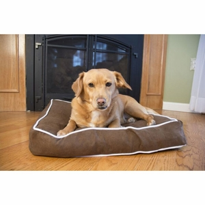 Iconic Pet - Luxury Buster Pet Bed - Cocoa - Medium