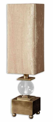 Ilaria Bronze Buffet Lamp with a Crystal Ball Brand Uttermost