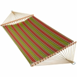 Imperial Stripe Jewel 13' Fabric Hammock by Alogma