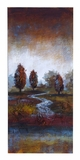 Impressionist Nature Canvas Painting After a Rainstorm Brand Woodland
