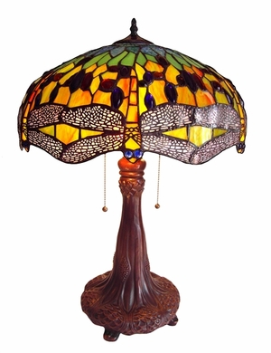 Impressive and Cool Dragonfly Table Lamp by Chloe Lighting