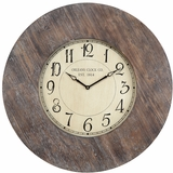 Impressive and Natural Williston Clock by Cooper Classics