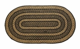 Impressive and Timeless Farmhouse Jute Rug Oval by VHC Brands