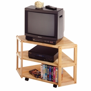 Impressive & Comfy Piece of Derby Corner TV Stand by Winsome Woods