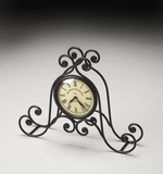Impressive Silas Iron Clock by Butler Specialty