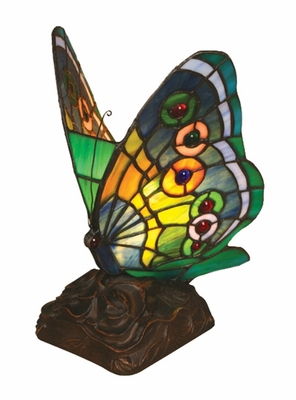 In Nature's Lap Butterfly Night Lamp by Chloe Lighting