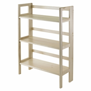 Incredible Piece of 3 Tiers Foldable Shelf by Winsome Woods