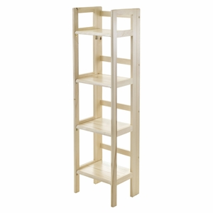 Incredible Piece of 4 Tiers Foldable Shelf by Winsome Woods
