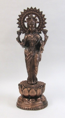 Indian Laxmi Goddess Divinely Radiant And Pious Figurine Brand IOTC