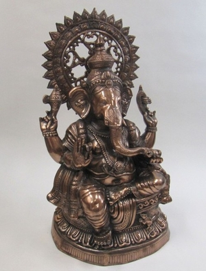 Indian Lord Ganesha, Auspicious Plus Dynamic Spiritual Statue Brand IOTC
