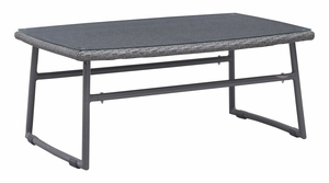 Ingonish Beach Coffee Table Grey by Zuo Modern