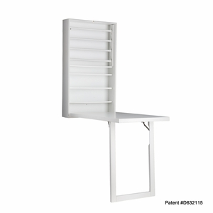 Innovative & Beautiful Wall Mount Craft Desk by Southern Enterprises