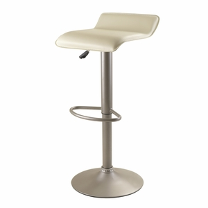 Winsome Wood Innovative & Comfortable Single Airlift Swivel Stool