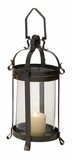 Innovative Styled Wonderful Metal Glass Lantern by Woodland Import