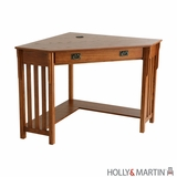 Interesting Holly & Martin Alexander Corner Computer Desk by Southern Enterprises