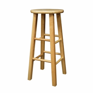 """Interesting Piece of 29"""" Stool by Winsome Woods"""
