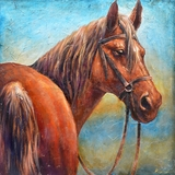 Interestingly Painted Ready To Run II Classy Painting by Yosemite Home Decor