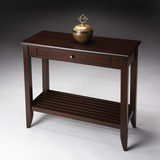 "Irvine Merlot Console Table 32""W by Butler Specialty"