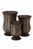 Italian Sleek Sophisticated Planter Set Brand Benzara