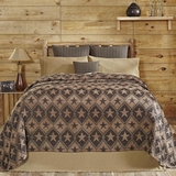 Jefferson Star Queen Chenille Woven Coverlet 103x100