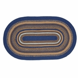 Jenson Jute Rug Oval 36x60 - 25906 by VHC Brands