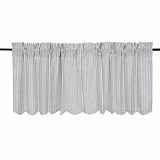 Josephine Black Scalloped Tier Set of 2 24x36 - 26082 by VHC Brands
