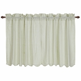 Josephine Sage Scalloped Tier Set of 2 36x36 - 26106 by VHC Brands