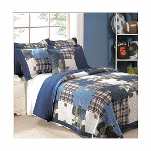 Just 4 Kids Collection Ranger Multi Color Standard Sham by Greenland Home Fashions