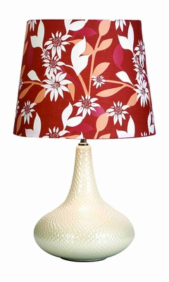"Kate Knight Potbelly Table Lamp With Shade 24"" Brand Woodland"