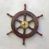 Kaunas Ship Wheel, Spectacular And Majestic Nautical Home Decor Brand IOTC