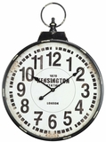 Kensington Enthralling Distressed Finish Parker Clock by Cooper Classics