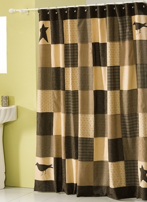 Kettle Grove Cotton Shower Curtain Brand VHC