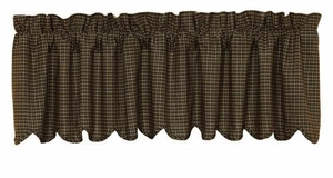 Kettle Grove Cotton Valance Block Border Brand VHC