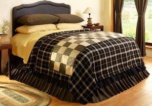 Kettle Grove Coverlet Woven Queen Size, Coverlet 103 X 100 Brand VHC