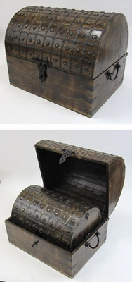 Kielce Nested Pirate Chest Set, Noble And Durable Home Embellishment Brand IOTC