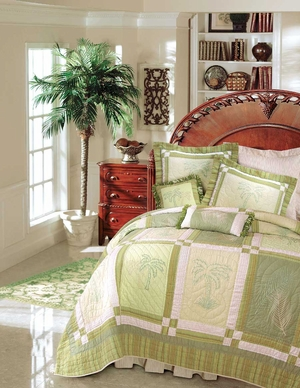 Kimiko Quilt - 2 Shams Only Brand C&F