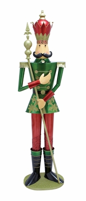 "King's Court Soldier 72"" Tall Holiday Decor"