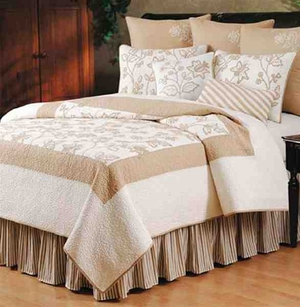 King Size Quilt Harlow Handmade Cotton 108 Inch X 92 Inch Brand C&F