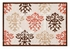 King Size Quilt Shabby Chic Brown Handmade 108 Inch X 92 Inch Brand C&F