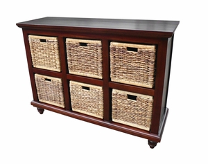 Krapina Six-Basket Chest, Aesthetic And Stupendous Home Utility by D-Art