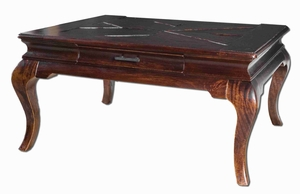 Lachlan Style Mahogany And Mango Wood Coffee Table Brand Uttermost