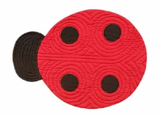 Ladybug Placemat, 14 Inch X 19 Inch, Ladybug Dining Placemats Brand C&F