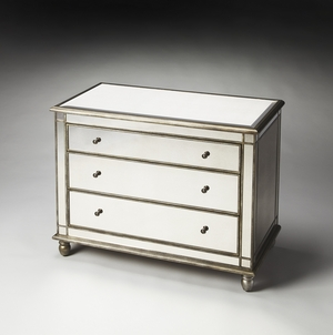 """Laflin Mirrored Console Chest 42""""W by Butler Specialty"""